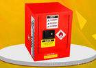 Small Size Lab Flammable Storage Cabinet 4 Gallon Single Door With Spill Control Sill